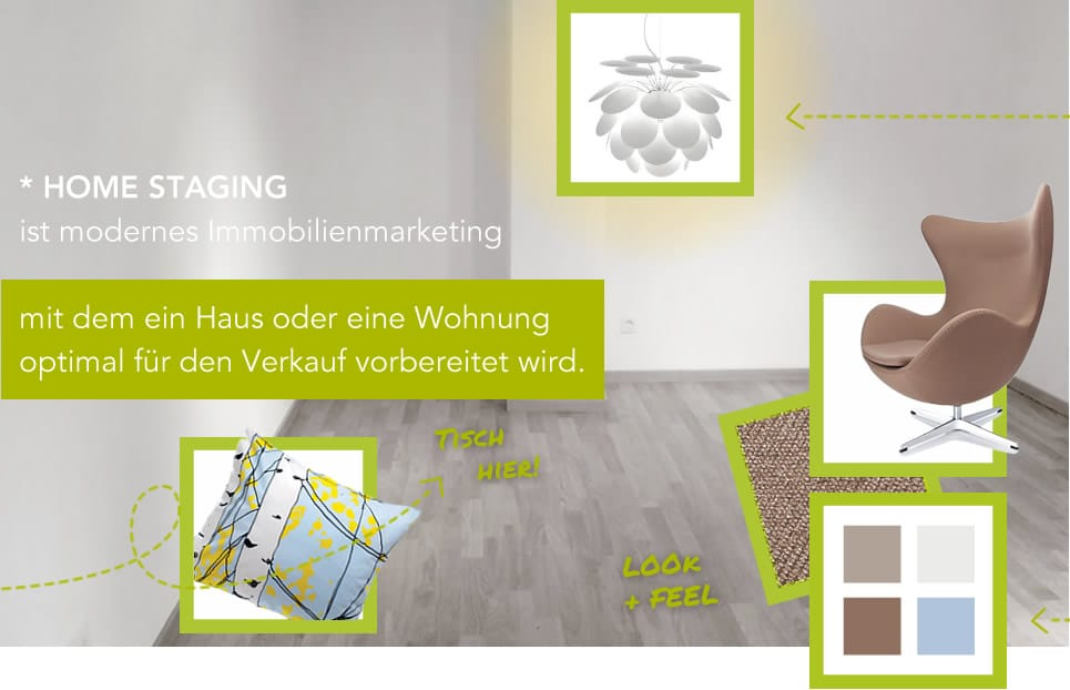 nicole sch tz home staging immobilie vor dem verkauf optisch vorbereiten und somit einen. Black Bedroom Furniture Sets. Home Design Ideas